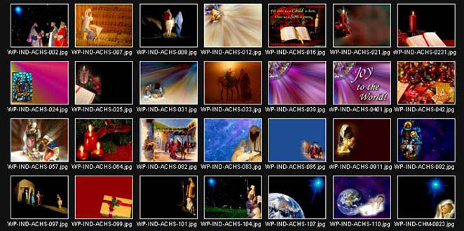 A brief overview of recent Christmas downloads from www.worshipphotos.com