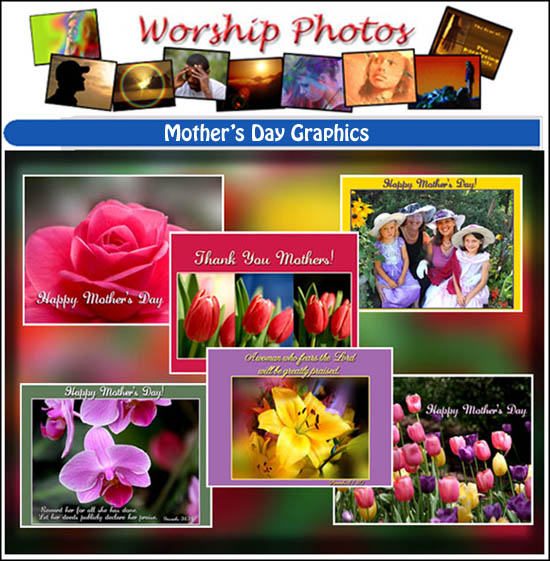 Some of the new Mother's Day graphics now available